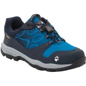 Jack Wolfskin Akka Texapore Chaussures à tige basse Garçon, night blue